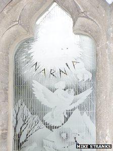 The Narnia window, Holy Trinity Church