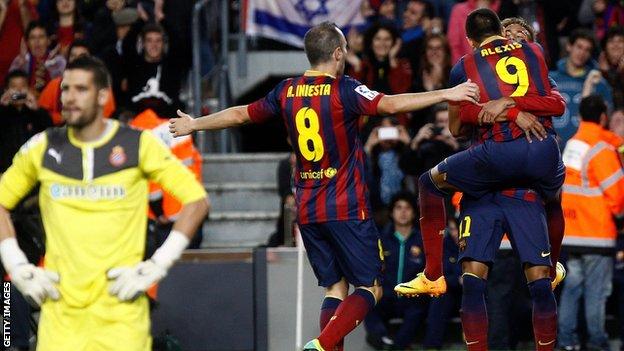 Barcelona v Espanyol