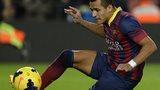 Barcelona's Alexis Sanchez