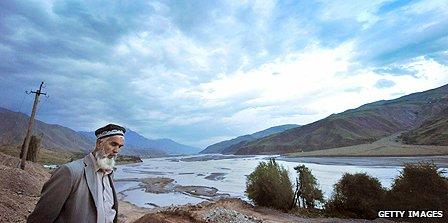 Rural scene in Tajikistan