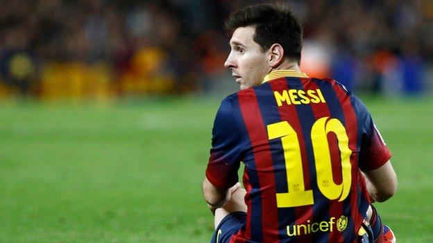 Messi sin chances en la liga sueña con la Copa del Rey