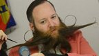VIDEO: Hundreds join battle of the beards