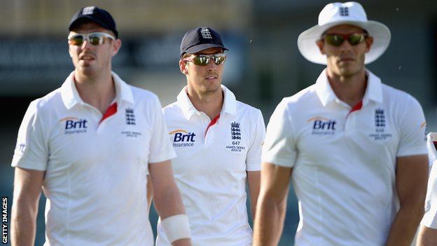 Boyd Rankin, Steven Finn and Chris Tremlett