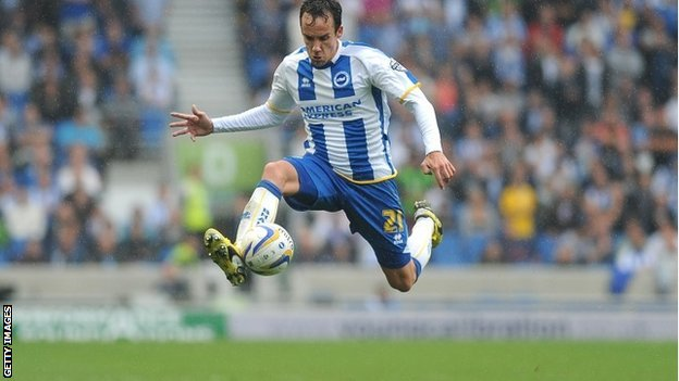 David Lopez of Brighton