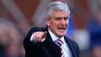 Mark Hughes' side drew with Southampton