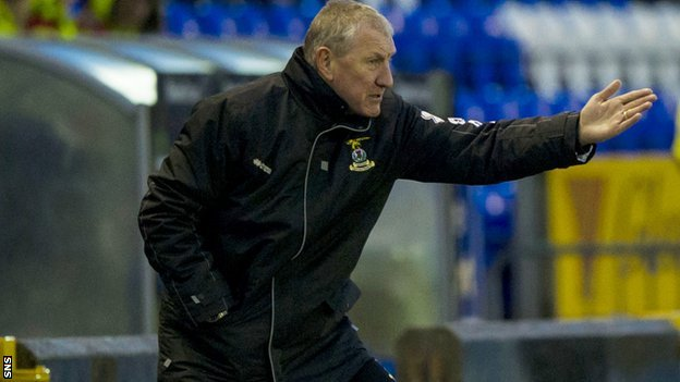 Terry Butcher guided his Inverness CT side to victory over Kilmarnock