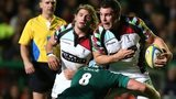 Harlequins try-scorer Nick Easter