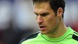 Stoke goalkeeper Asmir Begovic