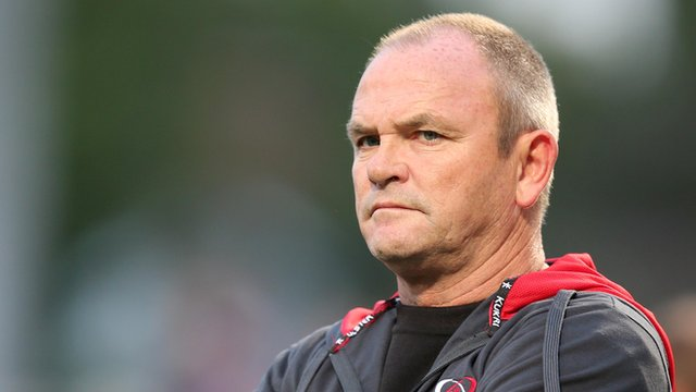 Ulster Rugby coach Mark Anscombe