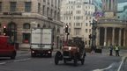 Vintage car on Oxford Street