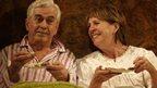 Nicholas Le Prevost and Penelope Wilton in Bedroom Farce