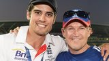 Alastair Cook & Andy Flower