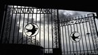 Ninian Park gates at the new stadium
