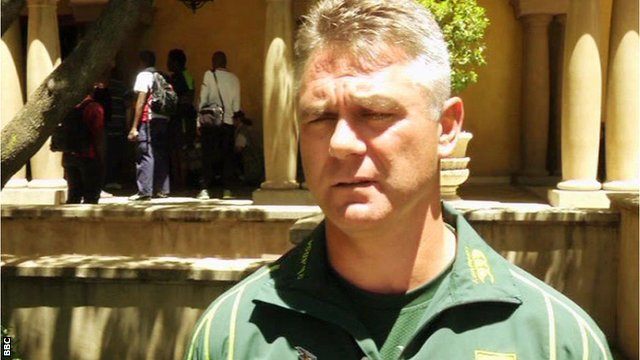 South African coach Heyneke Meyer