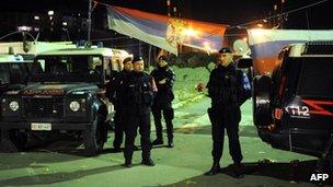Italian carabinieri, 3 Nov