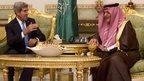 Kerry bids to smooth US-Saudi ties