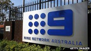 Logo of Nine Network