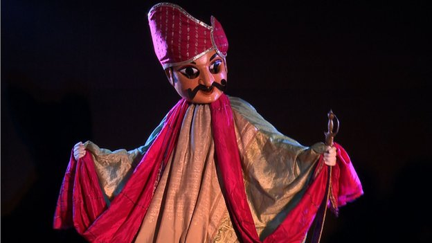 Puppets in Kathputli colony