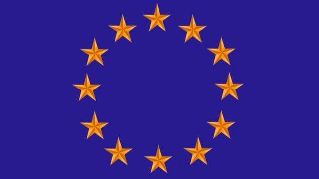 Stars flag logo of EU
