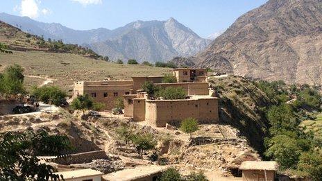 Chapa Dara in Afghanistan