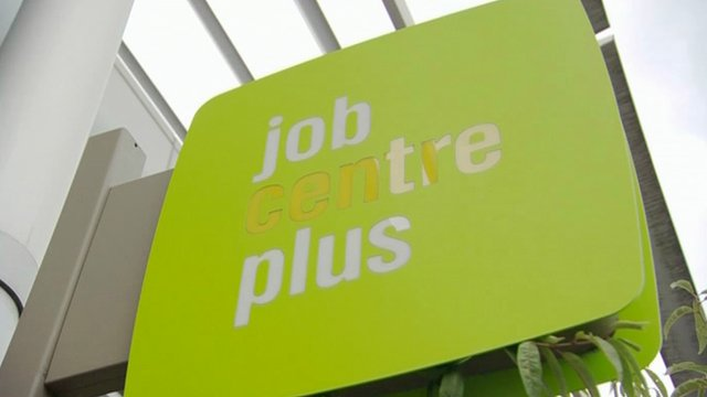 Job Centre plus sign