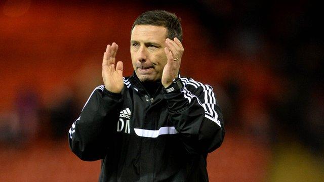 Interview - Aberdeen manager Derek McInnes