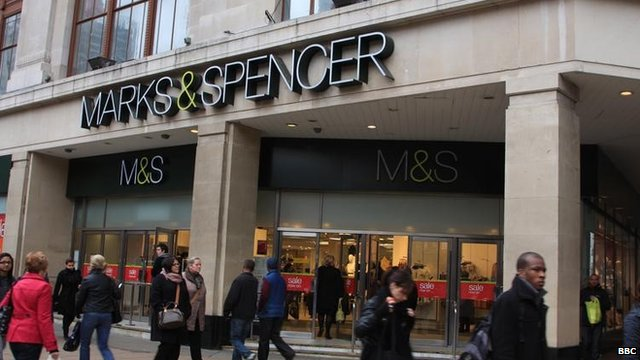 Marks and Spencer store in London