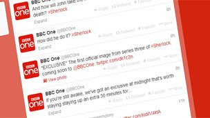 BBC One Twitter's feed