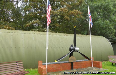 Memorial dedicated to the fallen of the 446th Bomb Group USAAF