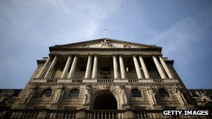 A picture of the Bank of England