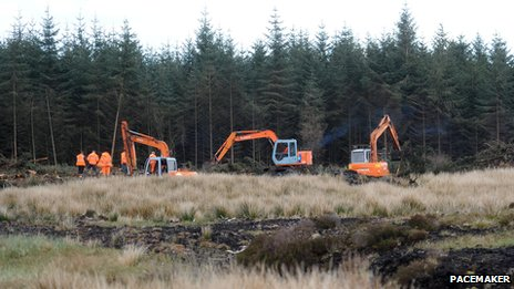 Search for body of Columba McVeigh