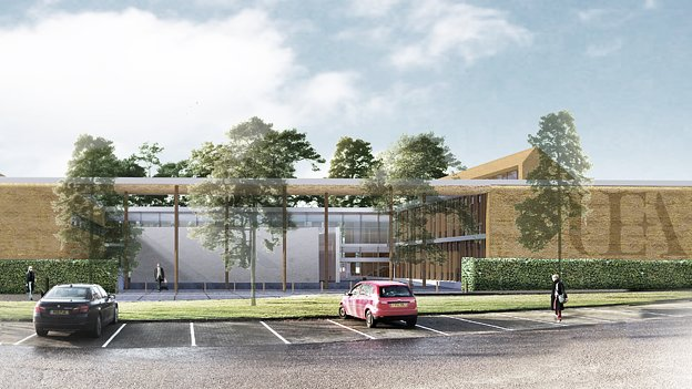 Artist's impression of the Enterprise Centre