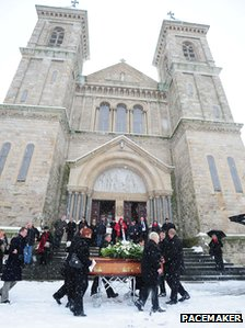 Peter Wilson's funeral