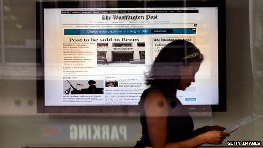 Washington Post announces it has been sold to Jeff Bezos