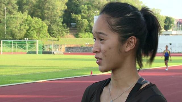 Brunei 400m runner Maziah Mahusin