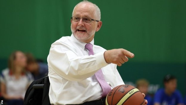 IPC president Sir Philip Craven
