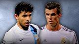 Sergio Aguero, Gareth Bale