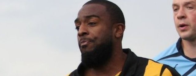 Southport striker Nathan Ellington