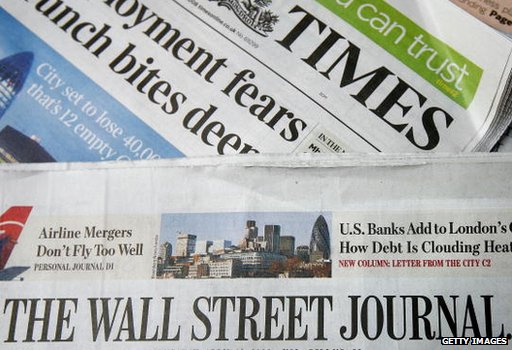 Wall Street Journal and The Times