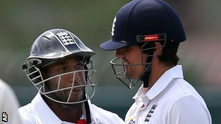 Michael Carberry and Alastair Cook