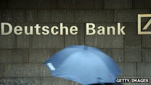 A picture of Deutsche Bank