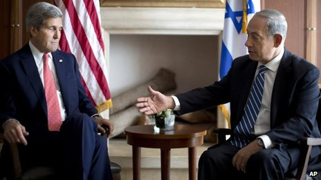 US Secretary of State John Kerry and Israeli Prime Minister Benjamin Netanyahu, Jerusalem (6 November)