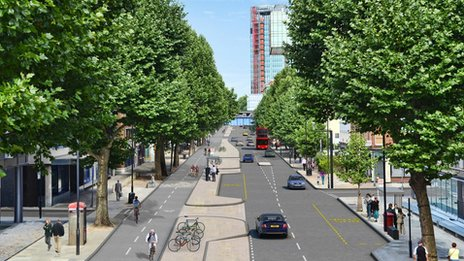 Plan for Blackfriars Road