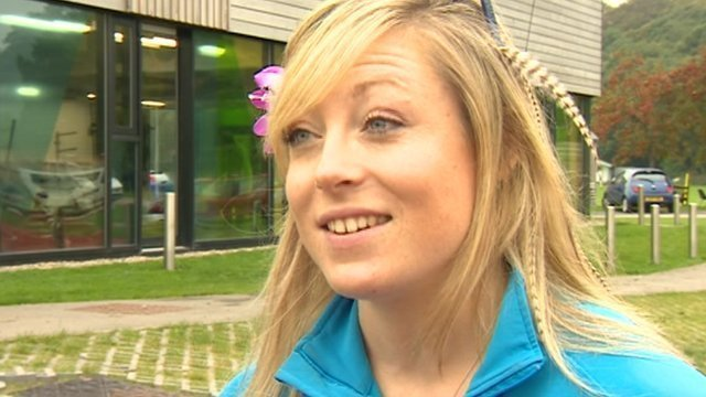 British number one ski cross athlete Emily Sarsfield