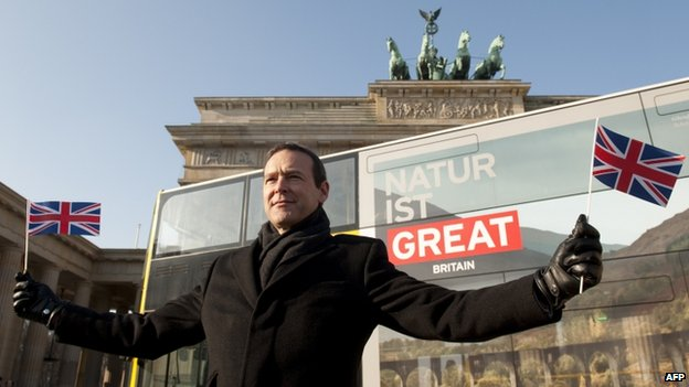 British ambassador Simon McDonald in Berlin, 8 February 2012