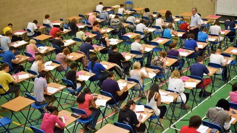 Global tests for schools in England