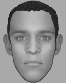 Greater Manchester Police e-fit of teenager suspected of carrying out an acid attack