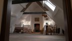 The attic after restoration.