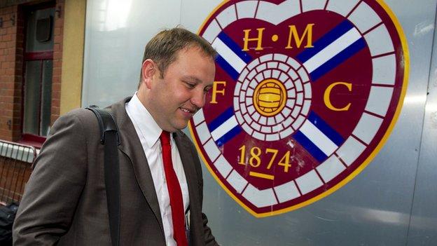 Foundation of Hearts chairman Ian Murray MP