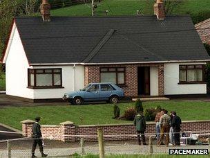 Roseann Mallon murder scene